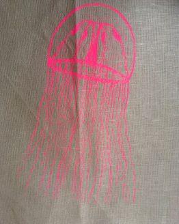 Geschirrhandtuch_Qualle_pink_braun_groß