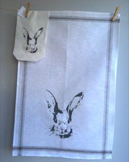 Handtuch Hasenkopf