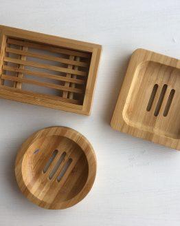 Seifenablagen aus Bambus
