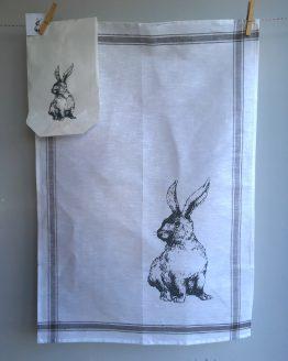 Handtuch Hase ganz
