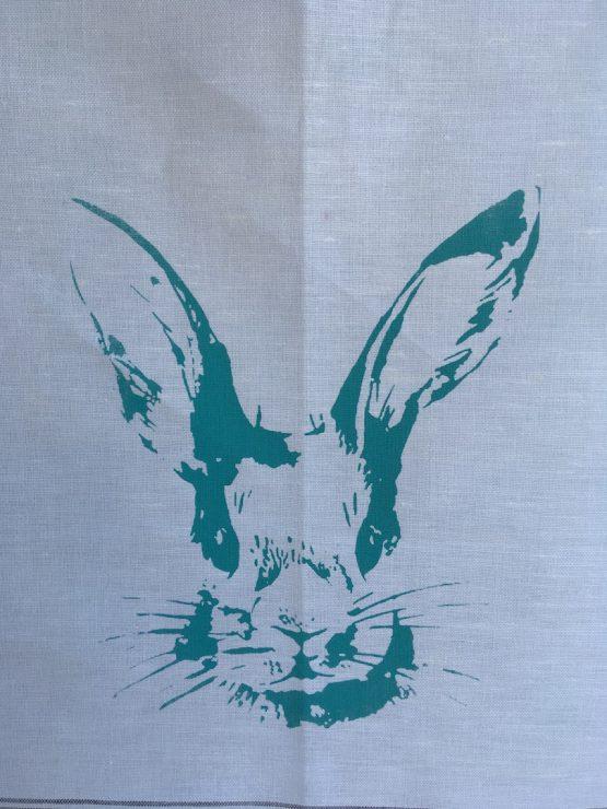 Handtuch Hasenkopf mint