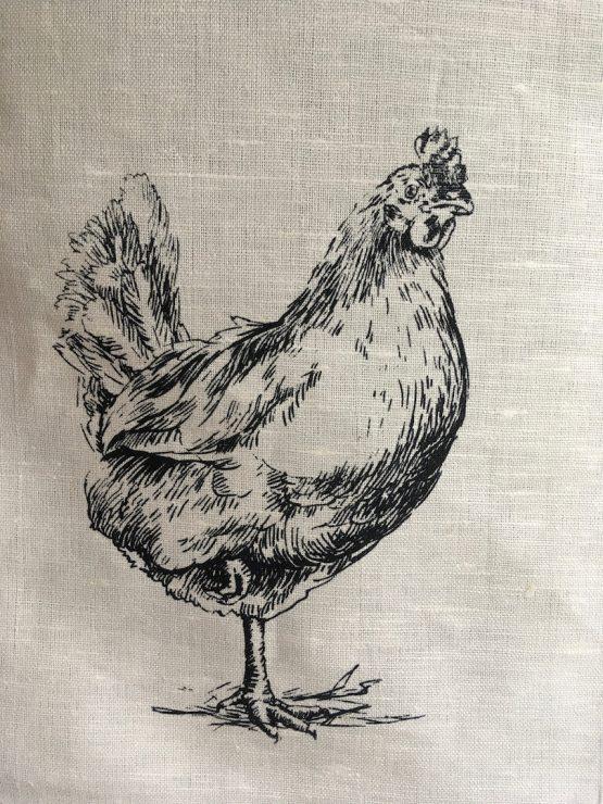 Handtuch Huhn