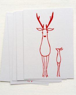 Postkarten Hirsche