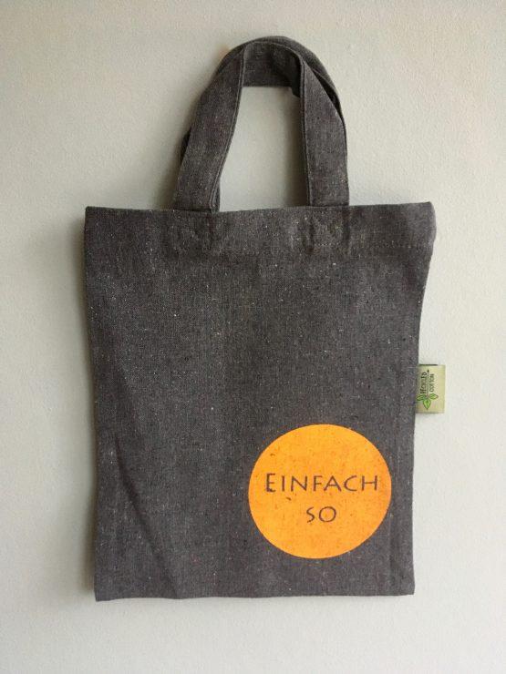 Kleine Tasche_aus Recycling Baumwolle