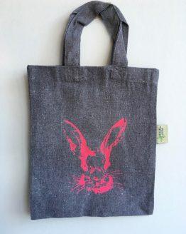 KLeine Tasche_aus Recycling Baumwolle Hase