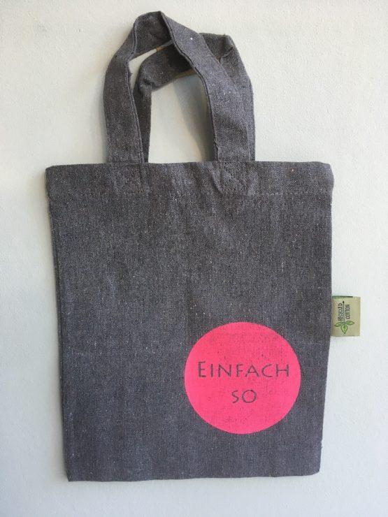 Kleine Tasche_aus Recycling Baumwolle_einfach
