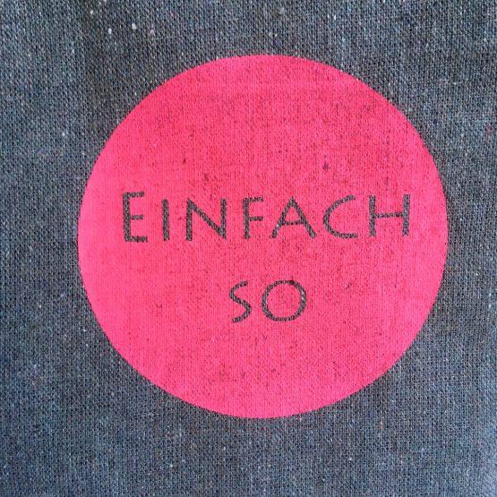 KLeine Tasche_aus recyckling Baumwolle_einfach_pink