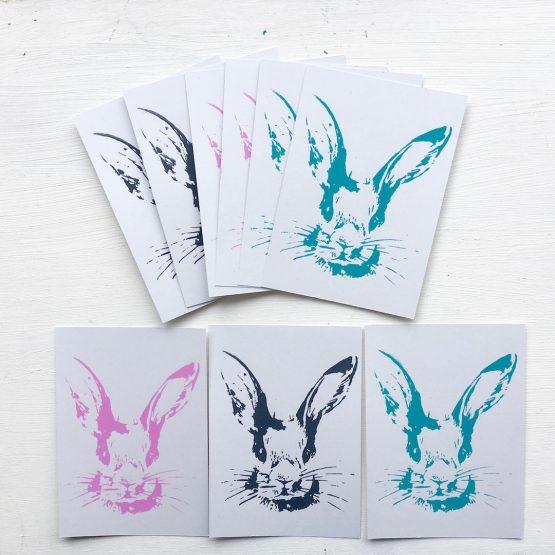 Postkarten Häschen