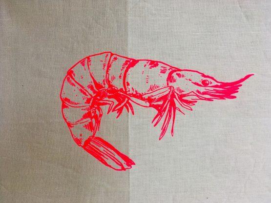 Handtuch Krabbe